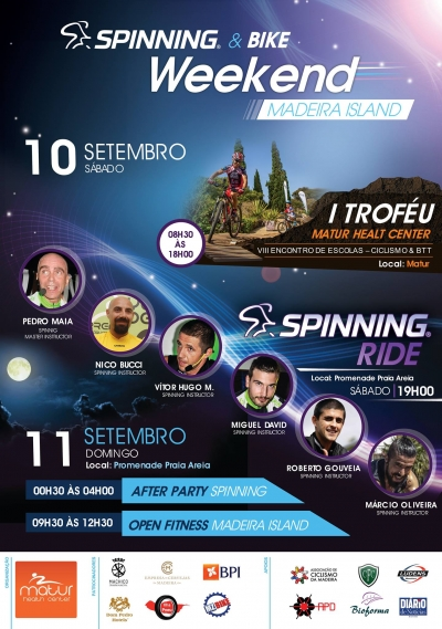 Bike Spinning Weekend Madeira Island 2016