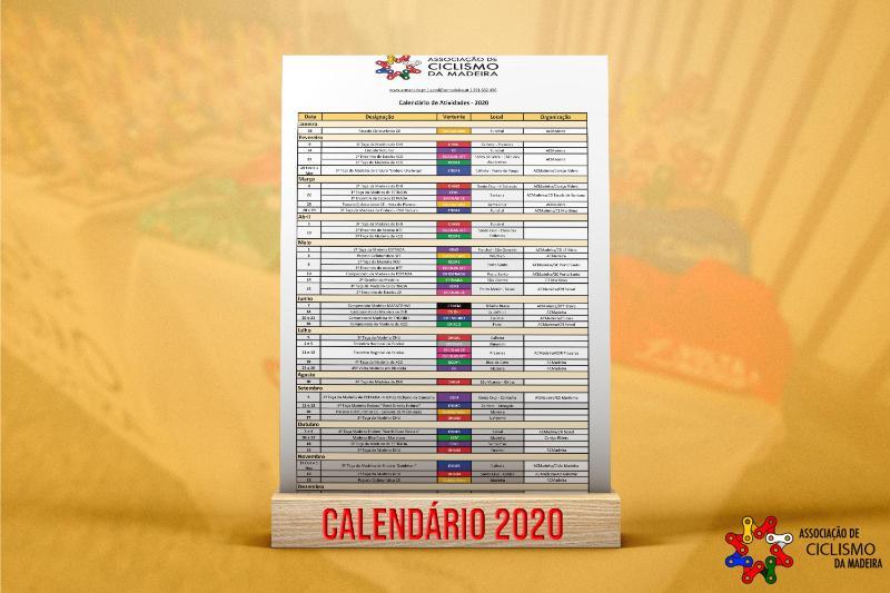 Calendário de Atividades 2020
